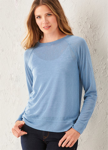 Jersey Long-Sleeve Top