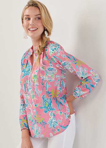 Resort Long-Sleeve Top