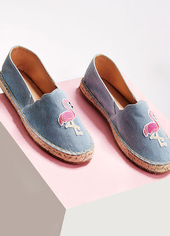 Flamingo Slip-On Shoes