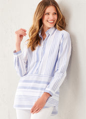 Business Stripe Tunic