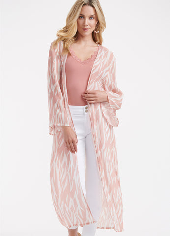 Lightweight Duster Cardigan