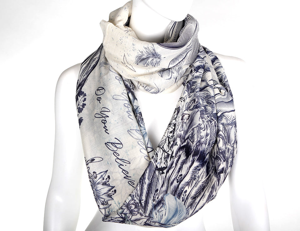 WINGS Design Infinity Scarf