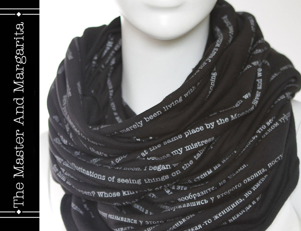 The Master and Margarita Book Scarf