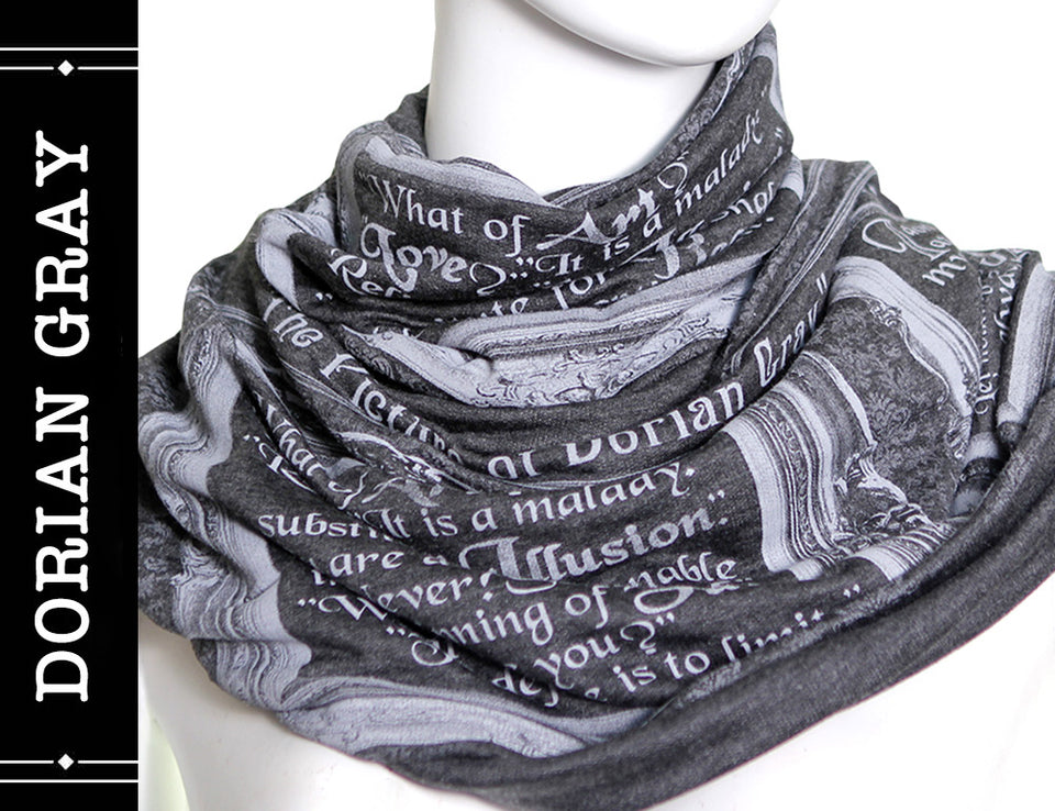The Picture of Dorian Gray book scarf by Oscar Wilde
