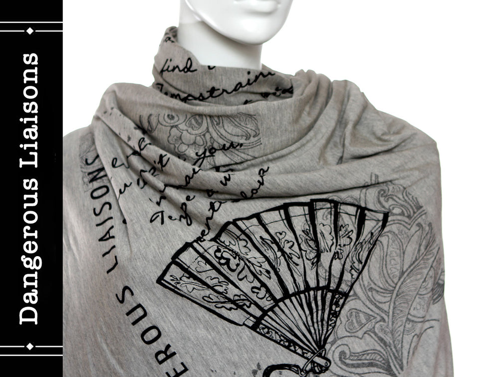Dangerous Liaisons Book Scarf