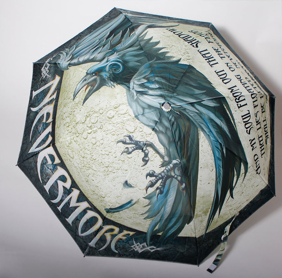 "Book Umbrella ""The Raven"""