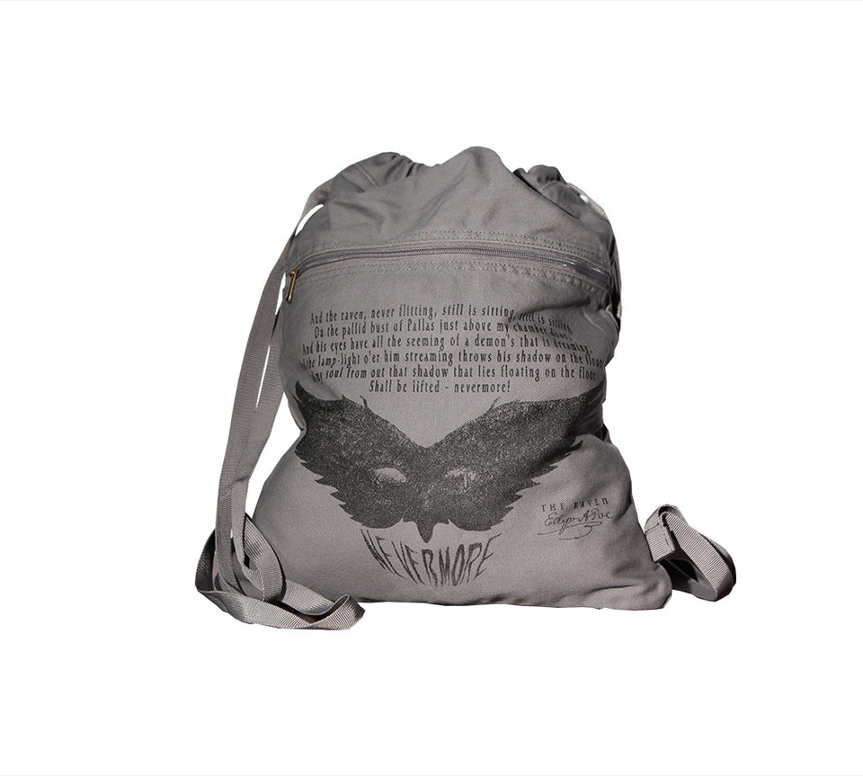 The Raven Book bag by Edgar Poe