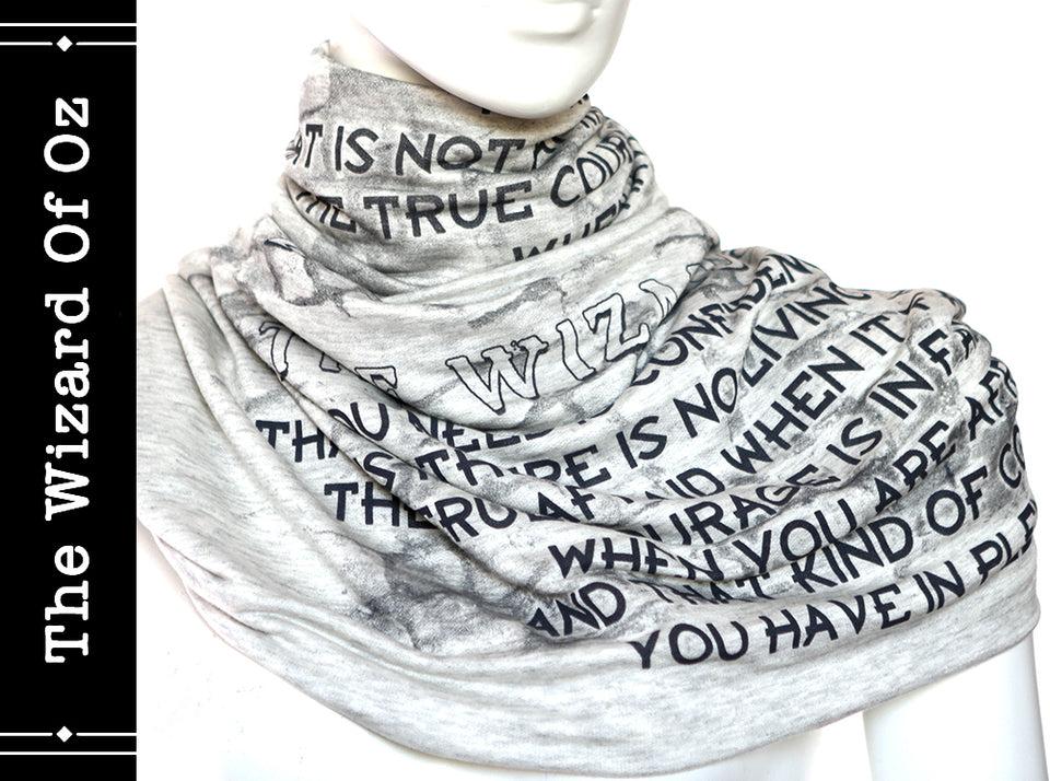 The Wizard Of Oz Book Scarf by L. Frank Baum