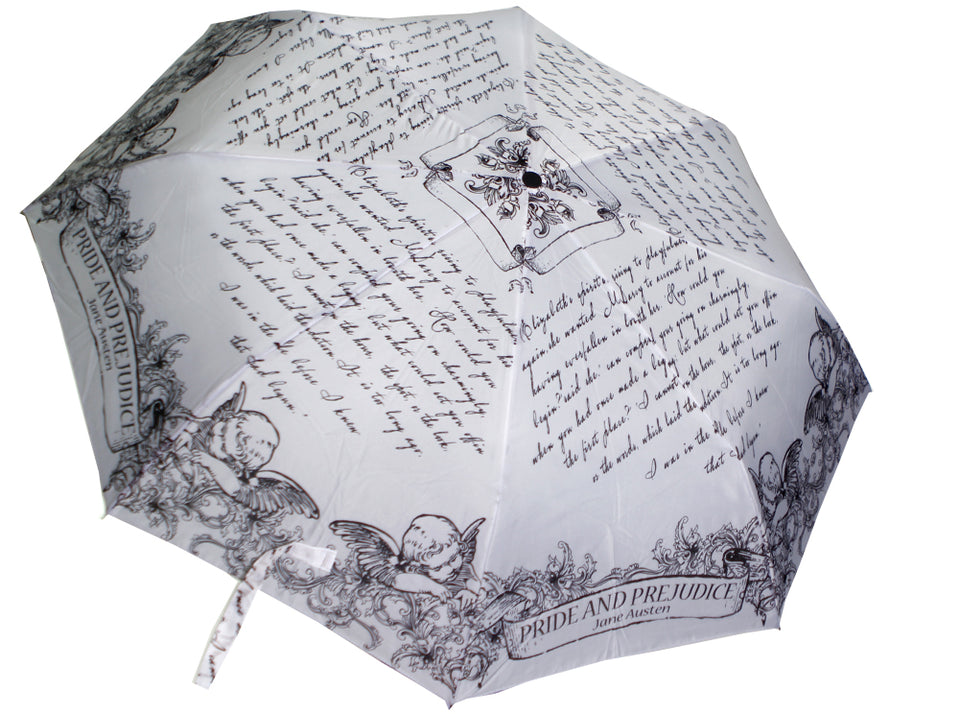 "Book Umbrella ""Pride and Prejudice"""