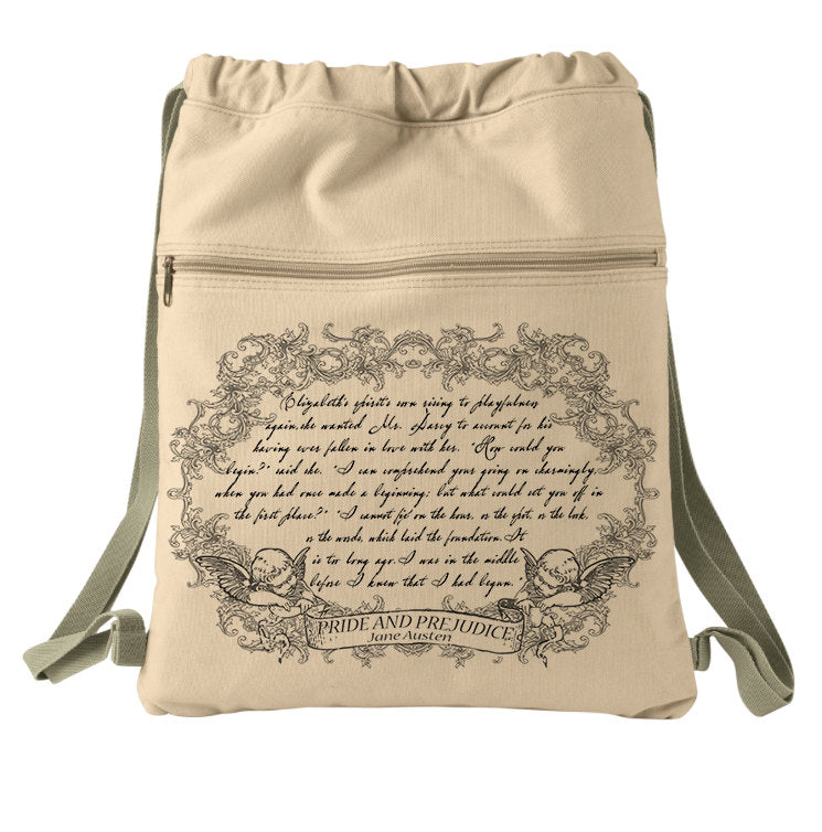 Pride and Prejudice Book Bag by Jane Austen