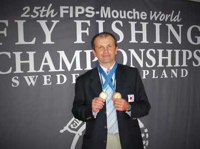 In the Spotlight: competitive fly fishing legend Bertrand Jacquemin