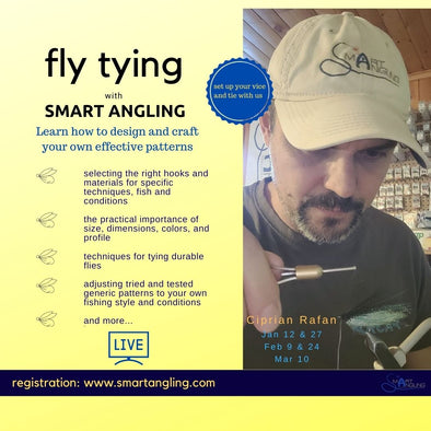 Fly Tying with Smart Angling 2021 ONLINE