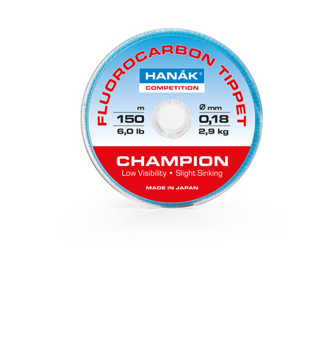 HANAK Competition Champion Fluorocarbon Tippets 150m