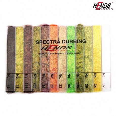 Hends Spectra Dubbing 12 Color Dispenser