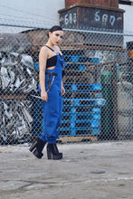 IMMACULATE BLUE CHAINED OVERRALLS