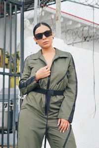 IMMACULATE UTILITY ROMPER