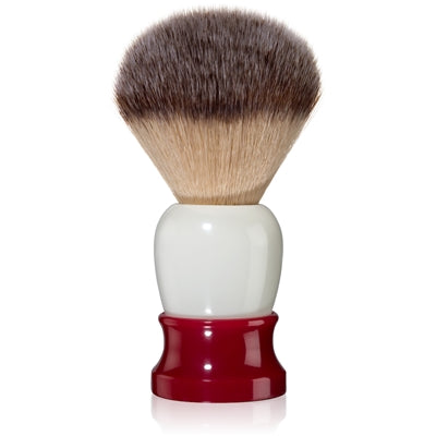 Fine - Classic Shaving Brush - Red and White 20mm