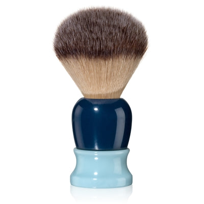 Fine - Classic Shaving Brush - Blue and Navy 20mm