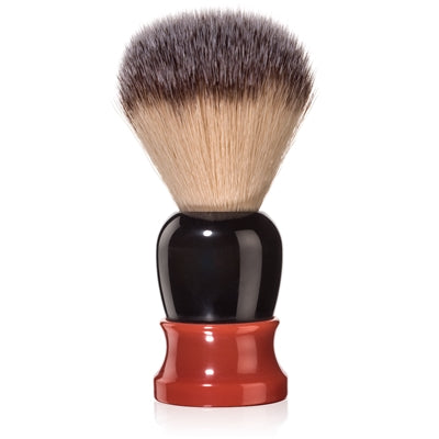 Fine - Classic Shaving Brush - Red and Black 20mm