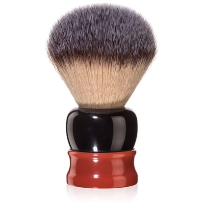 Fine - Stout Shaving Brush - Black and Red 24mm