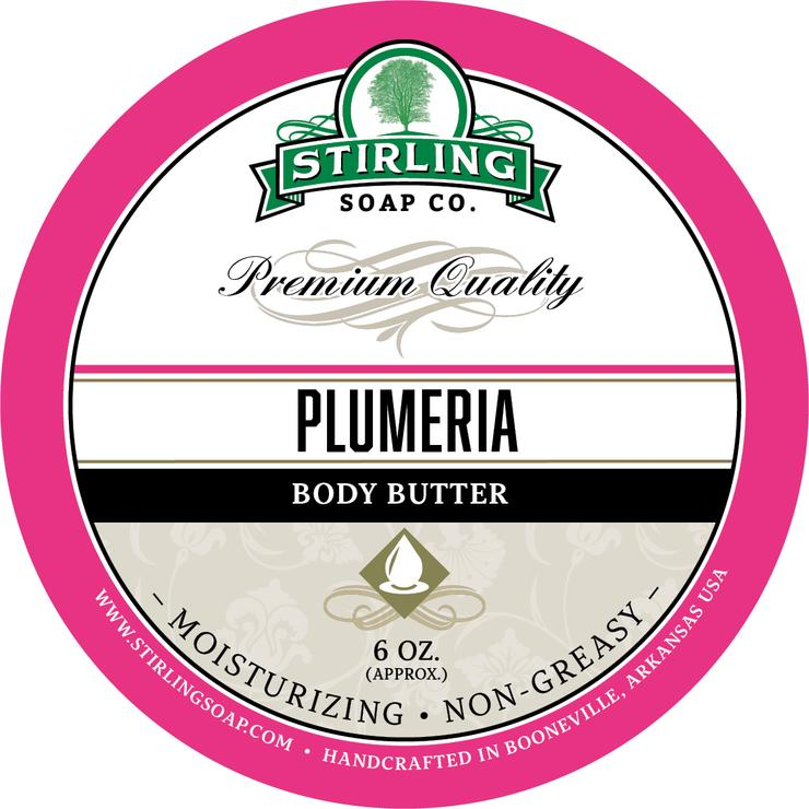 Stirling Soap Co. - Plumeria Shaving Soap