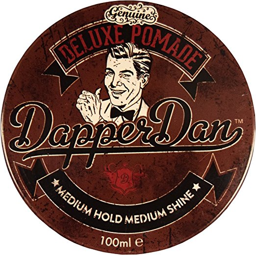 Dapper Dan - Deluxe Pomade Medium Hold Shine, 100 ml
