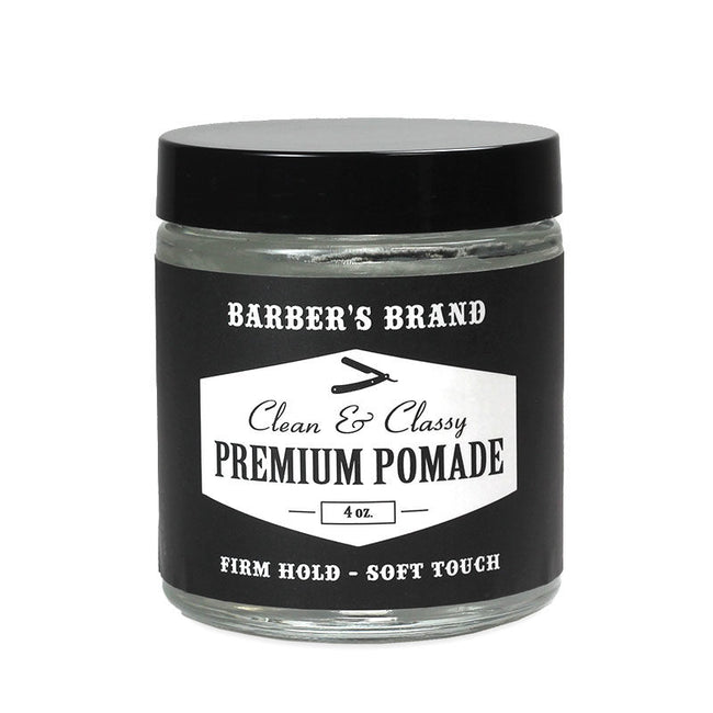 Barber's Brand - Clean and Classy Premium Pomade - Water Based