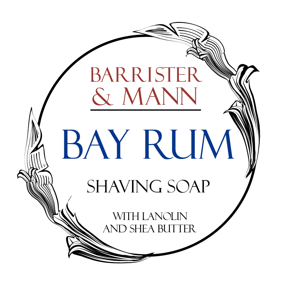 Barrister and Mann – Bay Rum Tallow Shaving Soap (Essential Oil + Fragrance Oil)