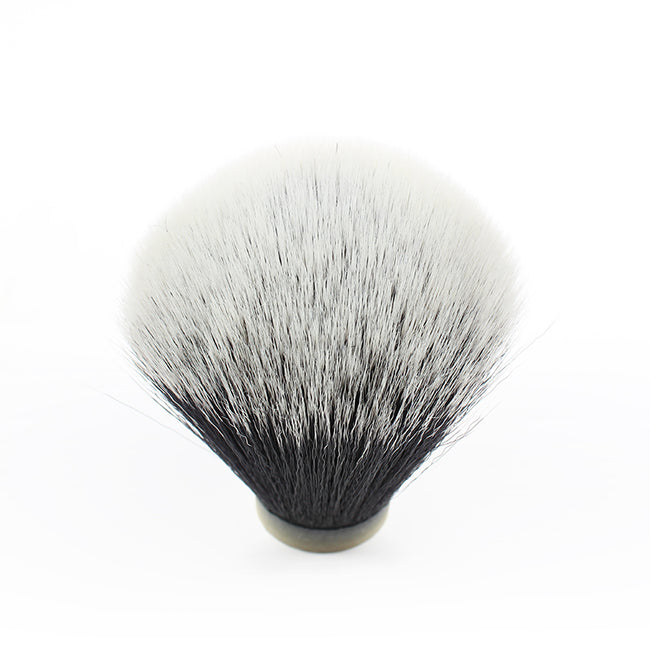 Black & White Synthetic Shaving Brush Knot 24mm