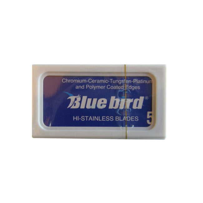 Blue Bird Hi-Stainless Double Edge Razor Blades - 5 blades
