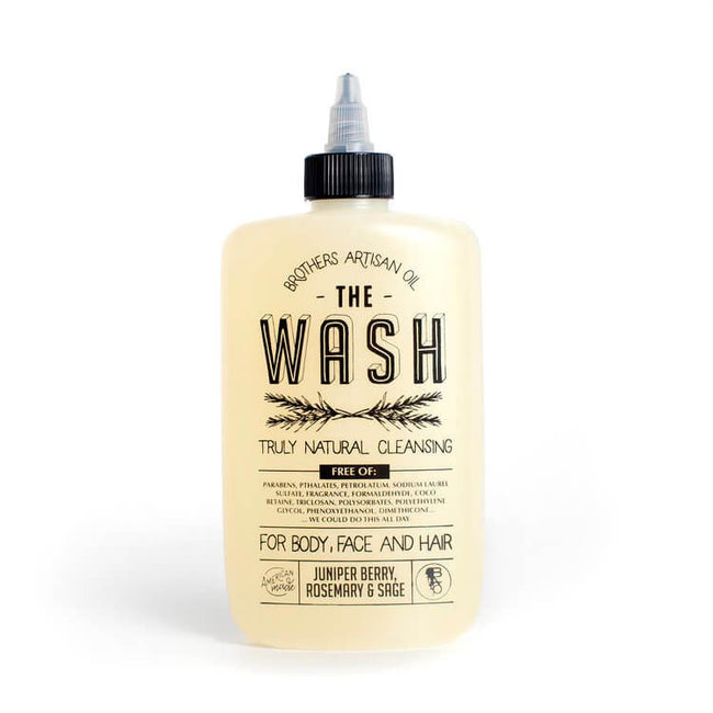 Brothers Artisan Oil - The Wash: Juniper Berry, Rosemary & Sage