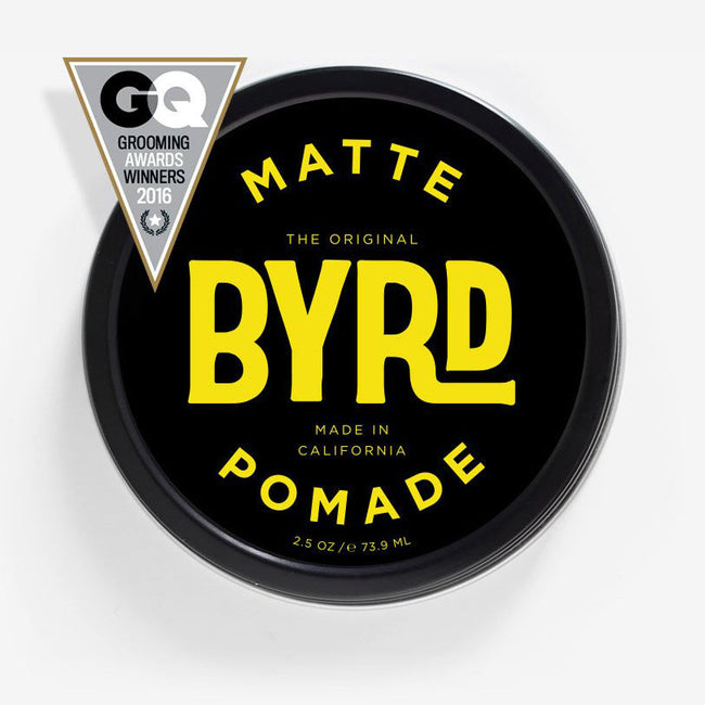 Byrd - The Matte Pomade 3 oz - Medium Hold