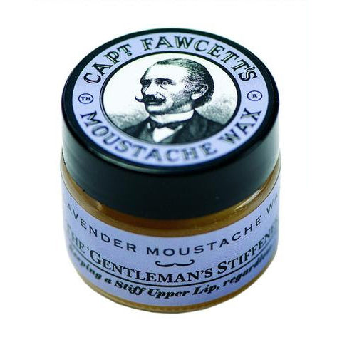 Captain Fawcett - Lavender Moustache Wax (15ml-0.5oz)