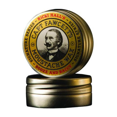 Captain Fawcett - Ricki Hall's Moustache Wax (15ml-0.5oz)