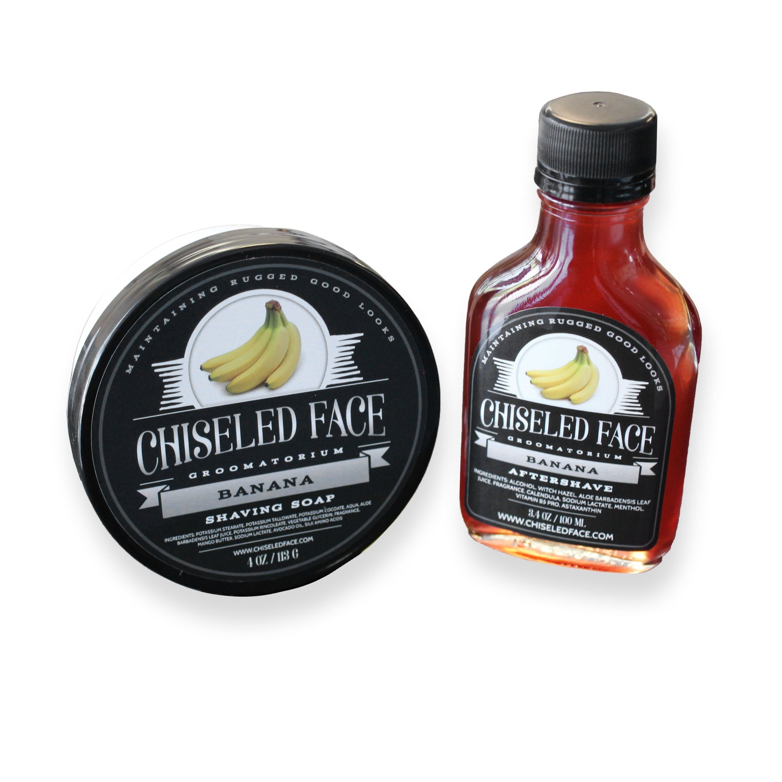 Chiseled Face – Banana – Shaving Soap