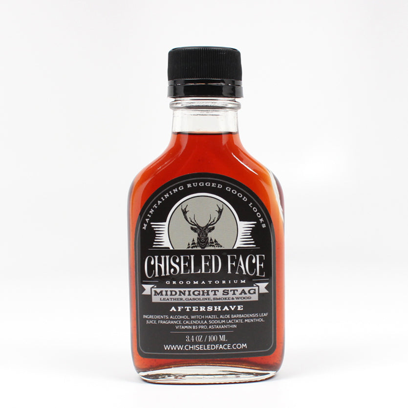 Chiseled Face – Midnight Stag – Aftershave Splash