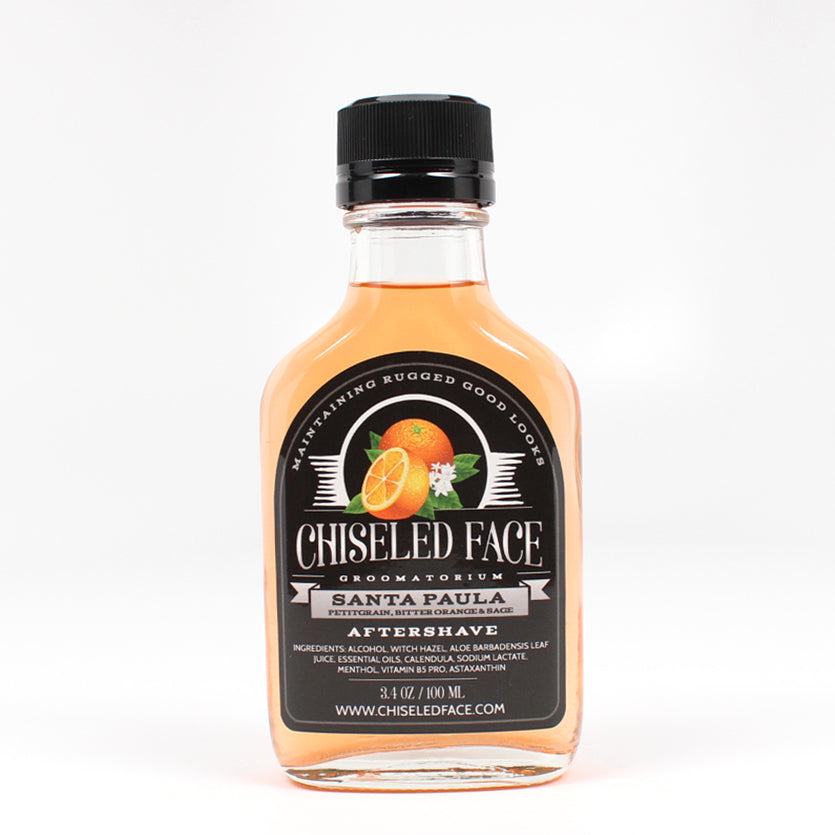 Chiseled Face – Santa Paula – Aftershave Splash