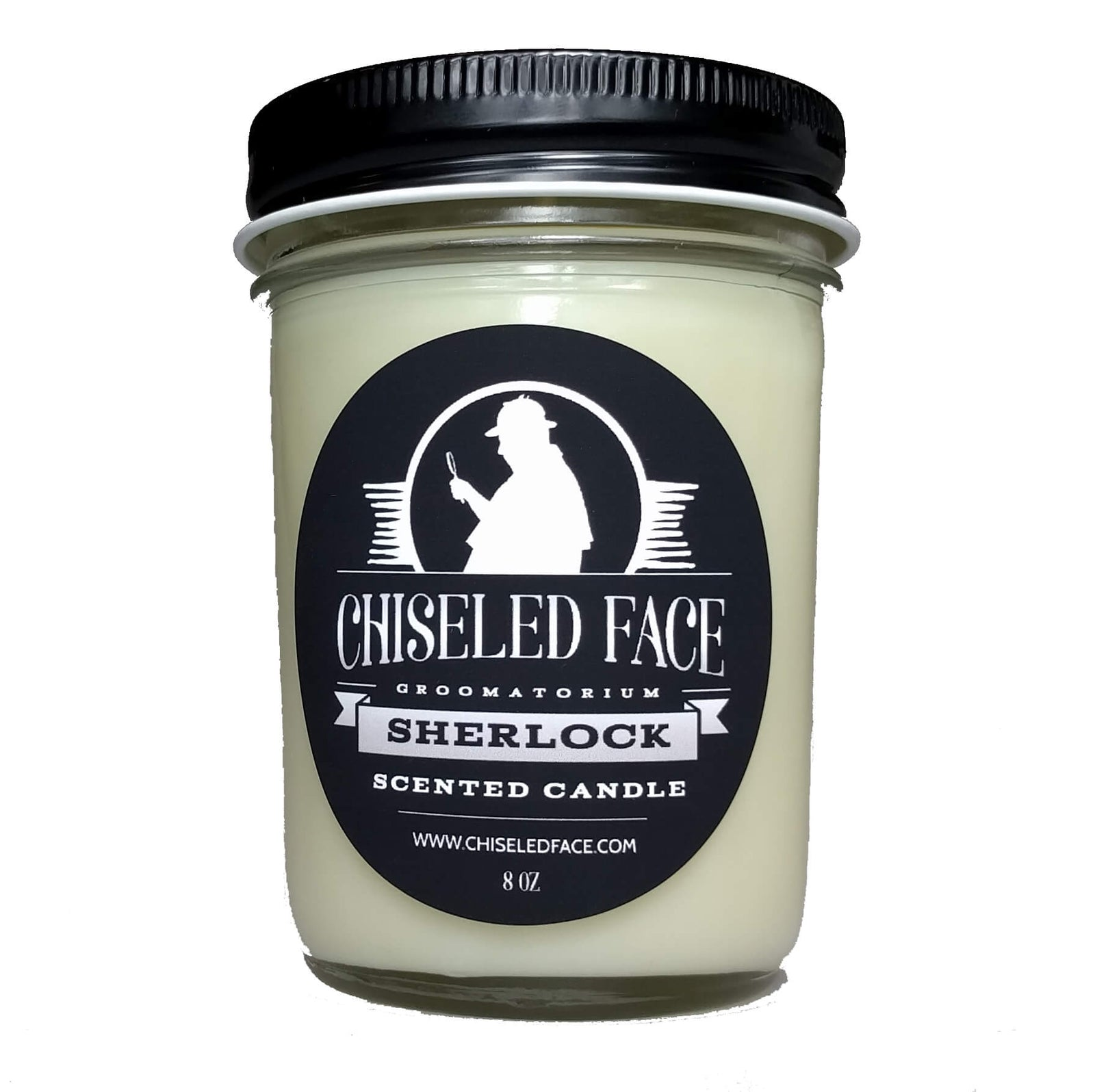 Chiseled Face – Sherlock Scented Candle