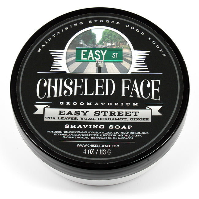 Chiseled Face – Easy Street – Shaving Soap