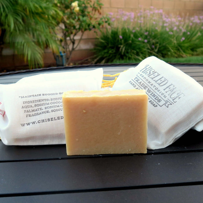 Chiseled Face – Trade Winds – Bath Soap