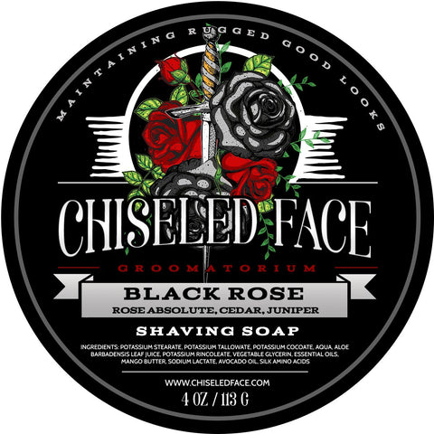 Chiseled Face - Silk Tallow Shave Soap - Midnight Stag