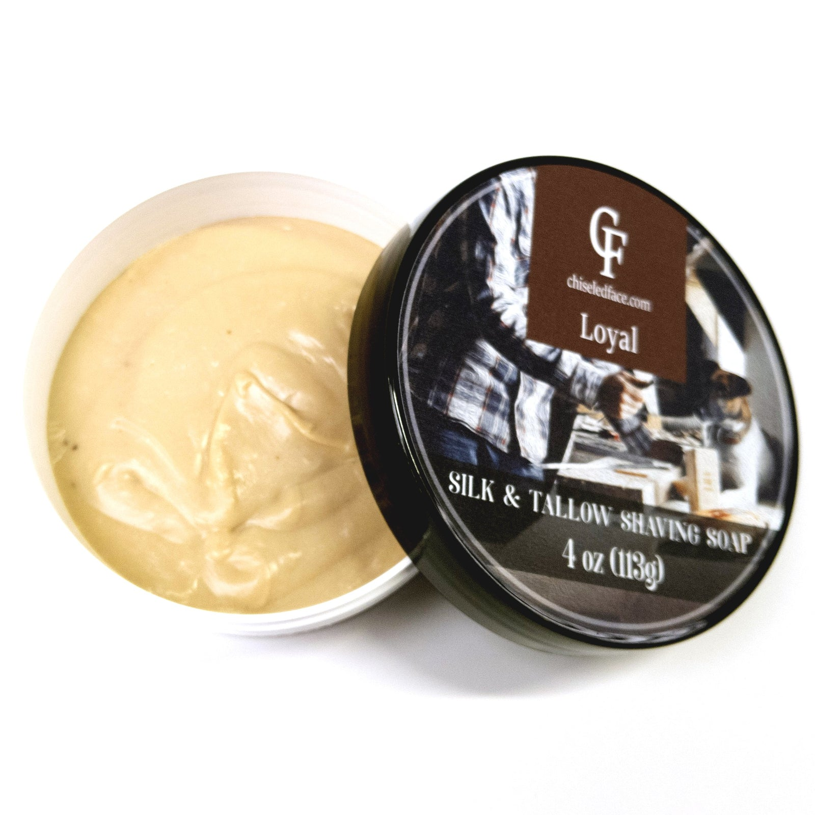 Chiseled Face - Loyal - Silk Tallow Shave Soap