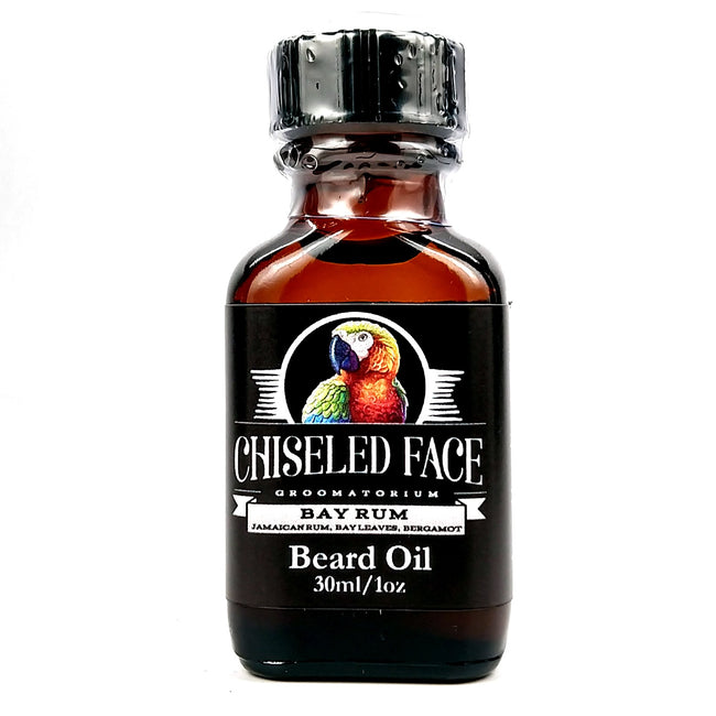 Chiseled face - Bay Rum Beard Oil, 1oz