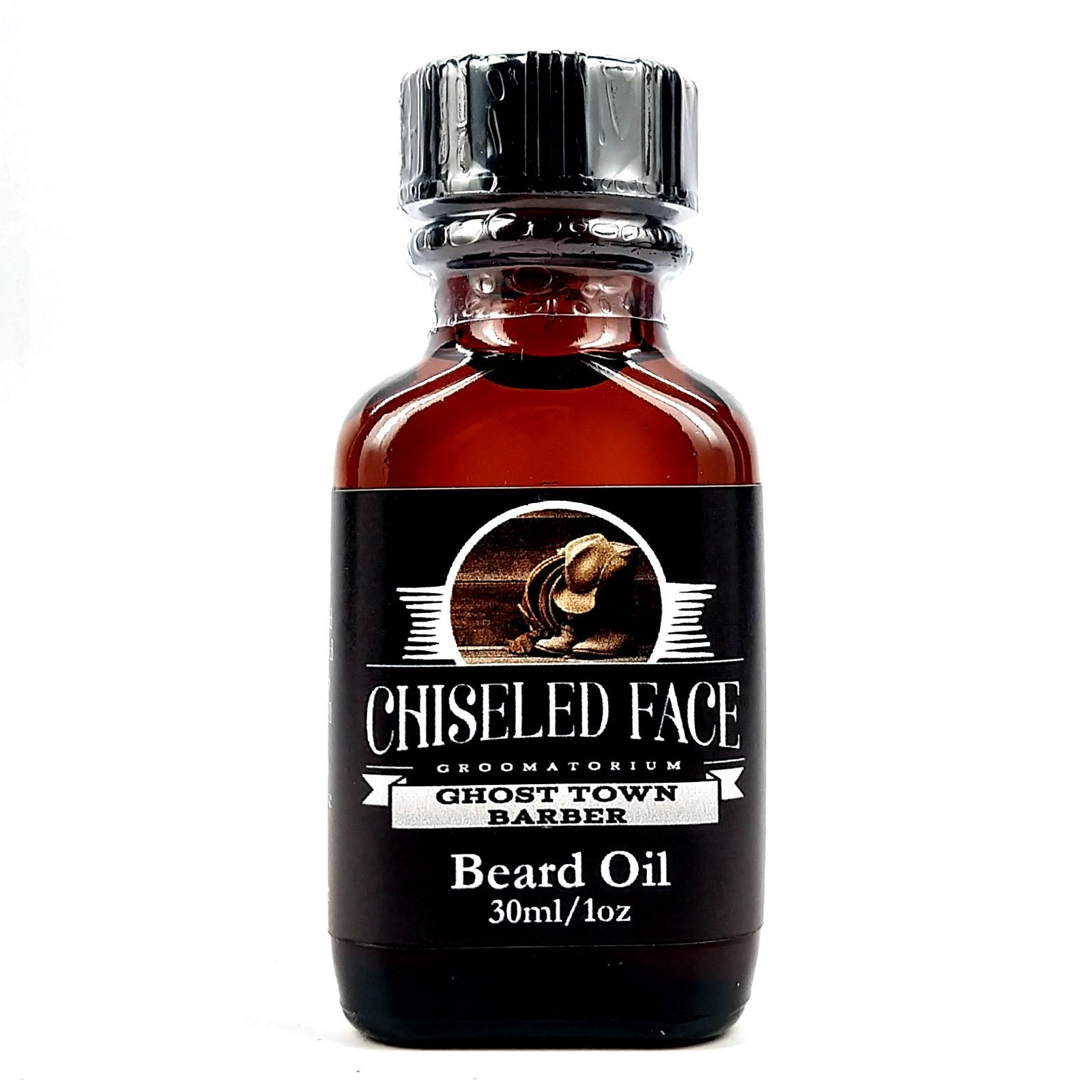 Chiseled face - Ghost Town Barber Beard Oil, 1oz