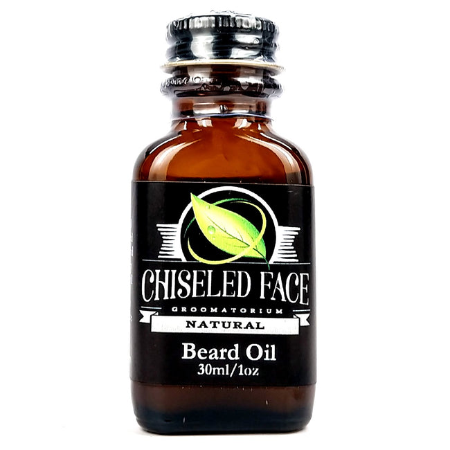 Chiseled face - Natural Beard Oil, 1oz