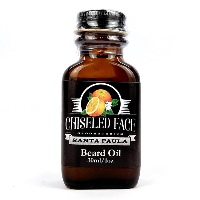 Chiseled face - Santa Paula Beard Oil, 1oz