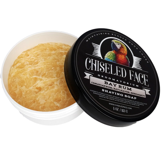 Chiseled Face - Bay Rum - Shaving Soap