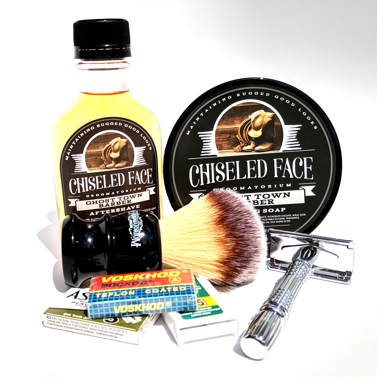 Chiseled Face - Standard Shaving Set