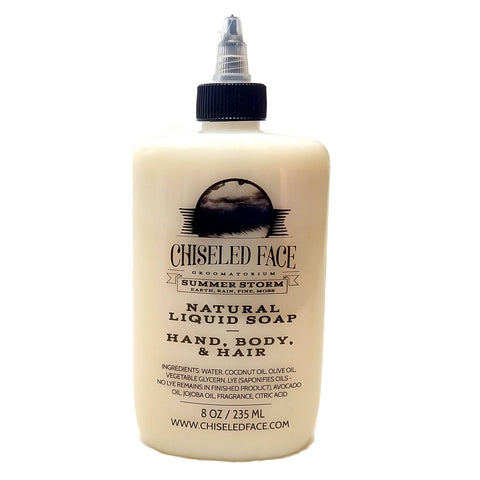Chiseled Face - Sherlock Liquid Soap