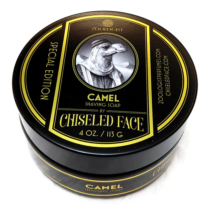 Chiseled Face - Zoologist Camel Shaving Soap